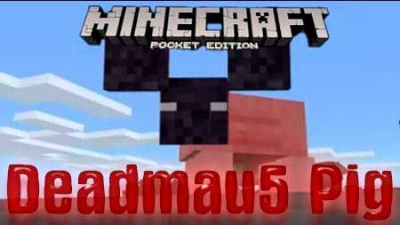 Текстуры Deadmau5 Pig для Minecraft PE