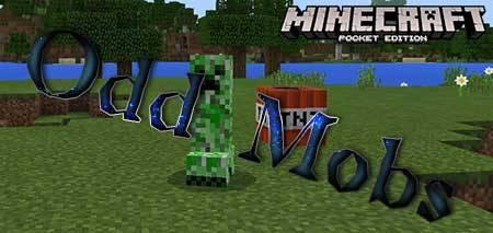 Мод Odd Mobs для Minecraft PE
