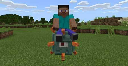 All Mobs Rideable mcpe 3