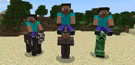 All Mobs Rideable mcpe 1
