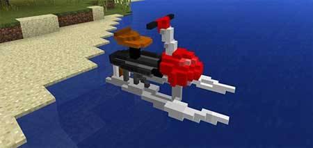 Water Bike mcpe 2