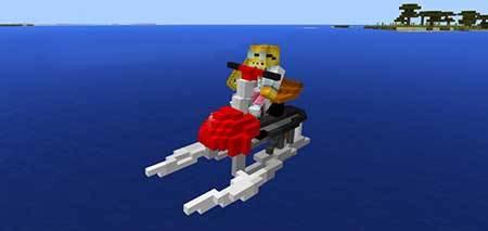 Water Bike mcpe 3