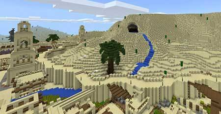 Arabian Desert City mcpe 5