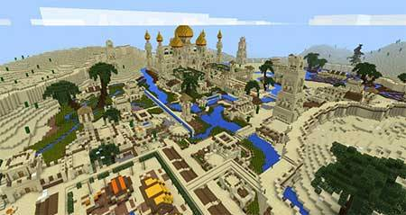 Arabian Desert City mcpe 3
