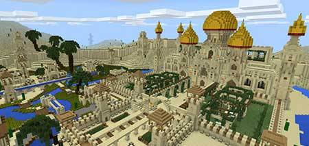 Arabian Desert City mcpe 1