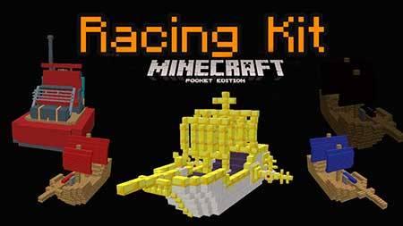 Карта Racing Kit для Minecraft PE