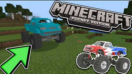 Мод MonsterTruck для Minecraft PE