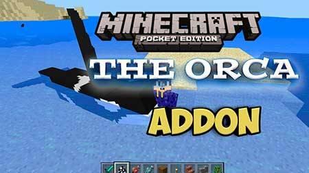Мод Orca для Minecraft PE