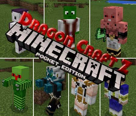 Мод Dragon Craft Z для Minecraft PE