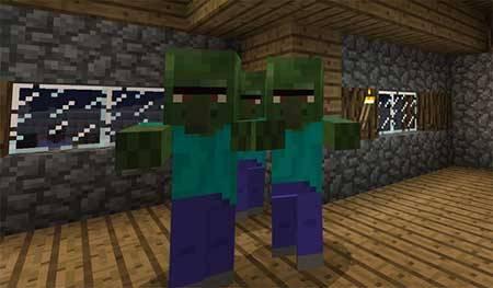 Текстуры Original Zombie Villagers для Minecraft PE