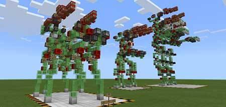 New Slime Block Robots mcpe 1
