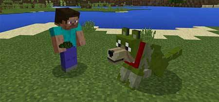 Colorful Mutant Wolves mcpe 1