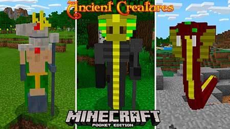 Мод Ancient Creatures для Minecraft PE