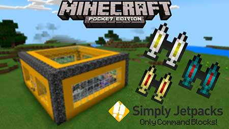 Карта Simply Jetpacks Recreation для Minecraft PE