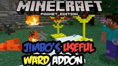Мод Jimbo's Useful Wards для Minecraft PE