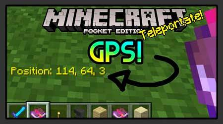 Текстуры NotchNotch GPS для Minecraft PE
