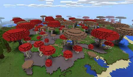 Massive Custom Biomes mcpe 2