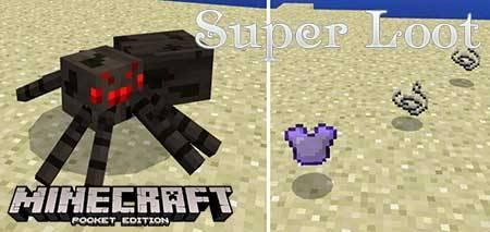 Мод Super Loot для Minecraft PE