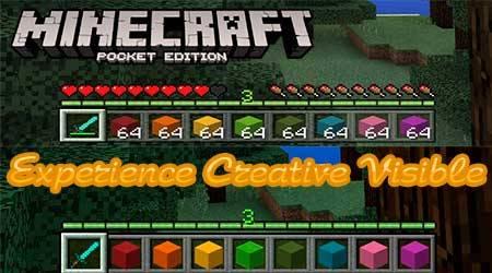 Текстуры Experience Creative Visible для Minecraft PE