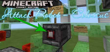 Карта Attack Robot – Colossus для Minecraft PE