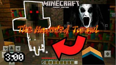 Карта The Haunted Tunnel для Minecraft PE