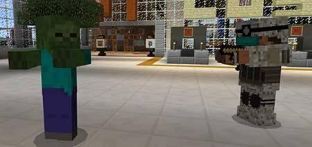 Мод BM WarStuffs для Minecraft PE