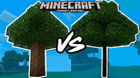 Мод Smart Trees для Minecraft PE