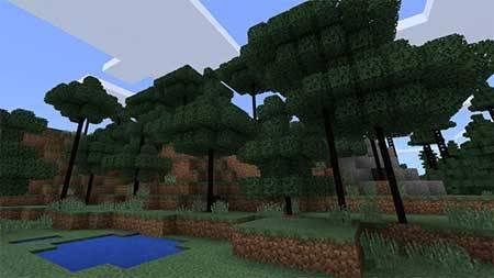 Smart Trees mcpe 3