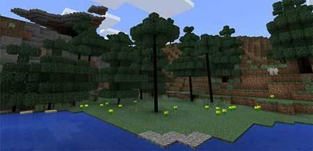 Smart Trees mcpe 2