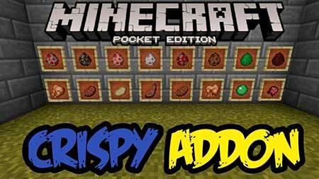 Мод Crispy для Minecraft PE