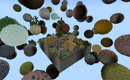 Skyblock Planet mcpe 2
