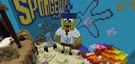 SpongeBob The Movie mcpe 3