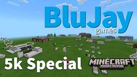 Карта BluJay's Creative Testing World для Minecraft PE
