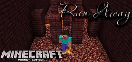 Карта Run Away для Minecraft PE