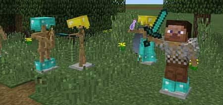 Armor Stand Creations mcpe 4