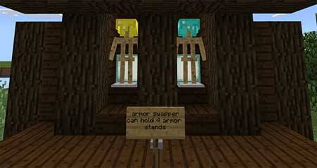 Armor Stand Creations mcpe 2