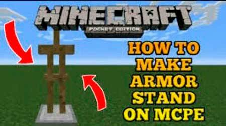 Карта Armor Stand Creations для Minecraft PE