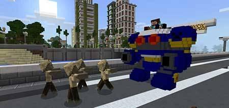 RoboCraft mcpe 2