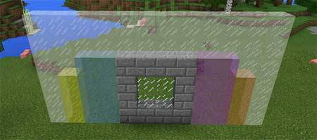 Connectable Glass mcpe 1
