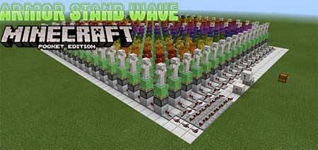Карта Armor Stand Wave для Minecraft PE