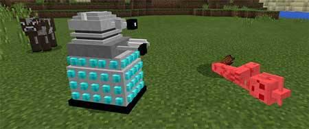 Doctor Who Mobs mcpe 2