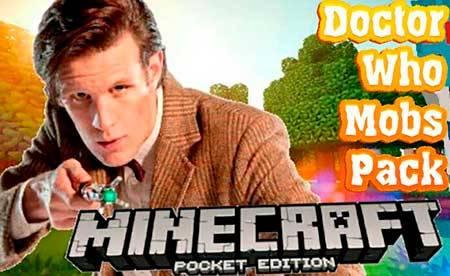 Мод Doctor Who Mobs для Minecraft PE