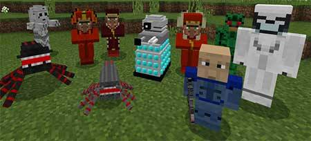 Doctor Who Mobs mcpe 1