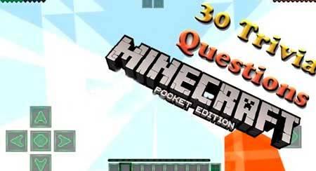 Карта The 30 Trivia Questions для Minecraft PE