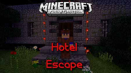 Карта Hotel Escape для Minecraft PE