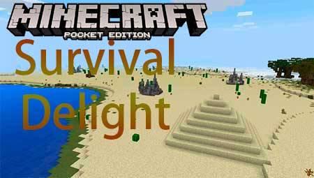 Карта Survival Delight для Minecraft PE