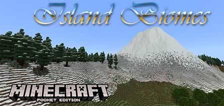 Карта Island Biomes для Minecraft PE