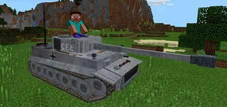 Tank mcpe 1