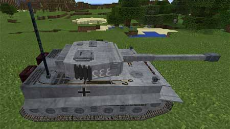 Tank mcpe 3