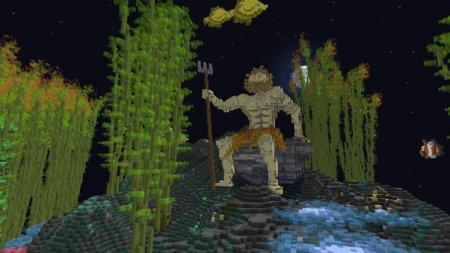 Карта Sapphire Ocean для Майнкрафт ПЕ